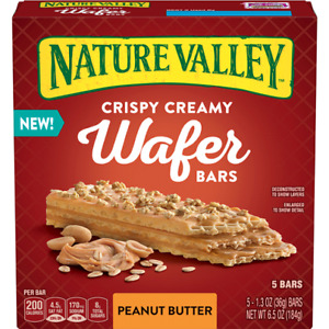Nature Valley Crispy Creamy Wafer Bars Peanut Butter