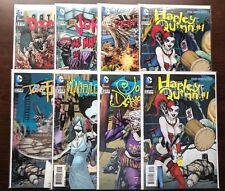 DC VILLAINS MONTH 3D 2D SET 23.2 Harley Quinn Joker Daughter Doomsday Batman NM