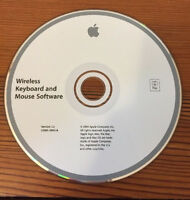 2004 Macintosh Mac Wireless Keyboard Mouse v1.2 Software Install CD Disc
