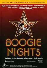 BOOGIE NIGHTS - Mark Wahlberg, Burt Reynolds DELUXE WIDESCREEN  -  Region 4 DVD