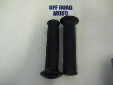 Domino Trials Bike Grips, BLACK. Very Good Quality. IDEAL PRE65 Twinshock.
