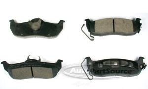 Disc Brake Pad Set-Semi-Metallic Pads Rear Autopartsource MF1041