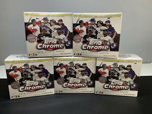 2020 Topps Chrome Update Series Baseball 5 Box Break Baltimore Orioles
