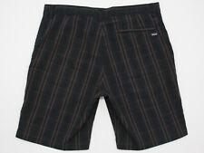 Mens Patagonia Organic Cotton & Polyester Seersucker Flat Front Shorts 34W NWOT