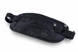 VALLET® Original Bauchtasche Flach RFID / NFC Blocker Gürteltasche Sporttasche