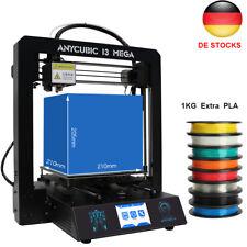 ANYCUBIC I3 Mega 3D Drucker 3,5 Zoll TFT Touchscreen Ultrabase+1KG PLA DE SHIP