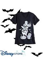 NWT Disney store Women Mickey Mouse Tee Shirt Top Trick Treat size xsmall