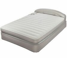 *AeroBed Inflatable Queen Air Mattress Bed with Headboard and Built In Pump*