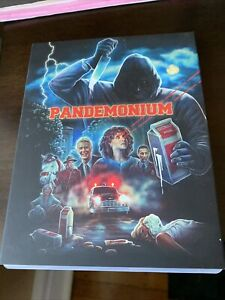 PANDEMONIUM (blu-ray, with limited edition slipcover) Vinegar Syndrome spoof