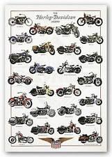 ART PRINT Harley Davidson Poster Libero Patrignani