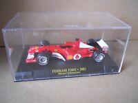FERRARI F2002 2002 Model Car 1:43 Die cast Michael Schumacher  [MZ5]
