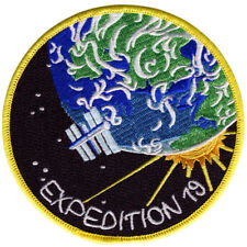 International Space Station - Expedition 19 - Embroidered Patch 11cm Dia