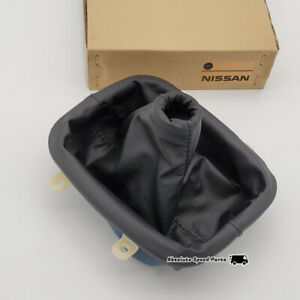 NEW NISSAN OEM Leather Shift Boot Console for S13 180SX 240SX 96935-35F10