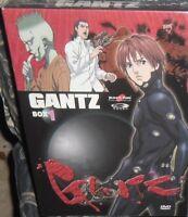 COFANETTO 3 DVD ANIME FANTA CYBERPUNK,GANTZ Box 1,YAMATO MANGA VIDEO PRIMA EDIZ