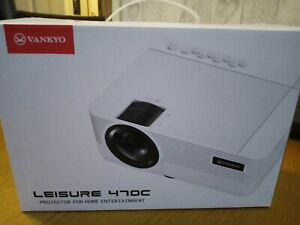 Leisure 470C Native 720P Projector, Full HD 1080P Supported and 250''