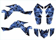 Suzuki LTZ400 graphics 2009 2010 2011 2012 2013 2014 2015 2016 decal #9500-Blue