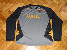 00b565a1bbe11 AS Roma Soccer Training Top Italy Rome Kappa Football Player Issue Shirt XXL