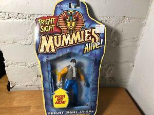 Fright Sight Mummies Alive 1997 Kenner Action Figure Ja-Kal - Sealed