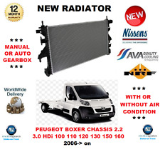 FOR PEUGEOT BOXER CHASSIS 2.2 3.0 HDi 100 110 120 130 150 160 2006> NEW RADIATOR