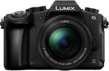 Panasonic Lumix DMC-G80 + 12-60mm MILC 16 MP Live MOS 4592 x 3448 Pixel Schwarz