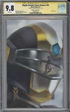 Might Morphin Power Rangers #36 CGC SS 9.8 Mercado virgin variant cover BOOM!