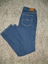 Tommy Hilfiger Womens Stretch Hipster Boot Jeans Size 8 Dark Rinse