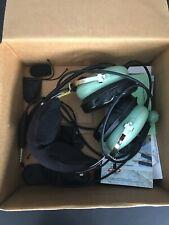David Clark H10-13S Aviation Pilot Headset EXC w/ Box & Accessories