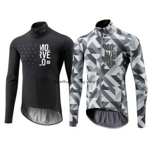New Spring/ Autumn Men's Morvelo Maillots Ciclismo Long Sleeve Cycling