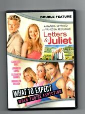 DVD LETTERS TO JULIET & WHAT TO EXPECT 2012 WIDESCREEN