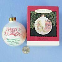Hallmark Grandparents 1995 Keepsake Bulb Ornament in Original Box NOS
