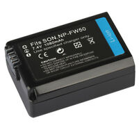 Battery charger for Sony NP-FW50,Compatible with Sony Alpha NEX-5, NEX-3, N A5T6