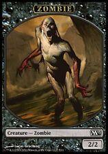 4x Zombie Jeton (Zombie Token)  Magic #254 M13 2013 VF