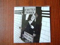 Jack White 7 Vinyl  Single  If You Talk Too Much NEW 2012 (White Stripes)