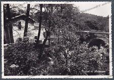 VERBANIA ARIZZANO 08 MULINI Cartolina FOTOGRAFICA viaggiata 1954