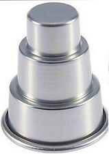 Cake 3 Tier Mini Metal Singles Pan for Muffin, Cupcake, Treat