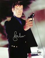 SIR ROGER MOORE Signed 11x14 Photo #2 James Bond 007 Autograph w/ PSA/DNA COA