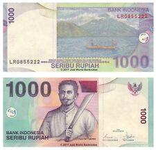 Indonesia 1000 Rupiah 2007  P-141h Banknotes UNC