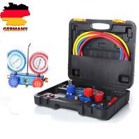 Druckuhr-Armatur AC Reparaturwerkzeug Kältemittel Set für Klimaanlagen R134A R22