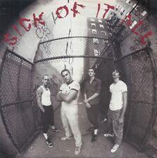 "SICK OF IT ALL - s/t 7"" lp on BLUE VINYL - New York Hardcore - NEW COPY"