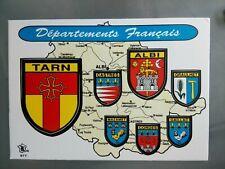 Cpa cpsm cpm 42 loire blason adhesif  FOREZ villes provinces france KROMA