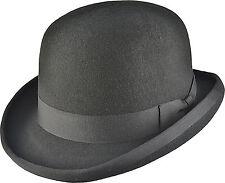 Bowler Hat Derby Hat High Quality  Black  Burgundy  White Purple 100% Wool Felt