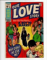 Our Love Story #8 A Boy to Marry 1970 Marvel Comics Group