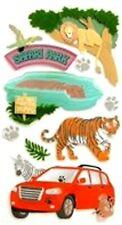 New listing Drive Thru Safari New Animal Design - Jolee's Le Grande Scrapbook Craft Sticker