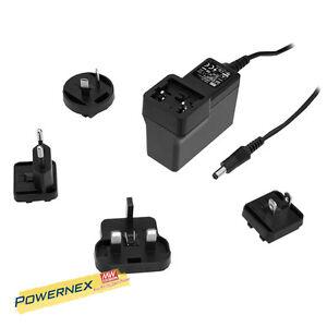 [POWERNEX] MEAN WELL NEW GEM40I05-P1J 5V 5A 25W Medical Adaptor (Main Body)