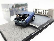 1:43 Altaya Renault 11 Taxi James Bond Collection A View To A Kill Diecast