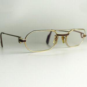 Vintage Cartier Must Laque glasses frames gold sunglasses trinity santos vendome