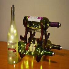 1M Weinflasche Kork Form LED Lichterkette Warmweiß Sternenlicht Weihnachtsdeko
