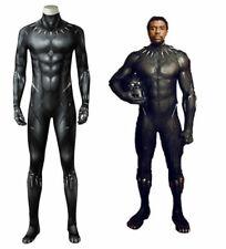 Black Panther T'Challa Wakanda King Cosplay Jumpsuit Zentai Halloween Costume