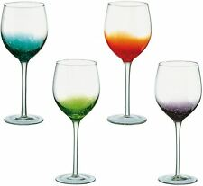 The DRH Glass Collection Anton Studio Fizz Set of 4 Wine Glasses