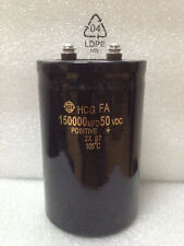 1PCS HITACHI HCG 50V 150000UF Electric vehicle capacitor 75X130mm 105℃ #E271 YX